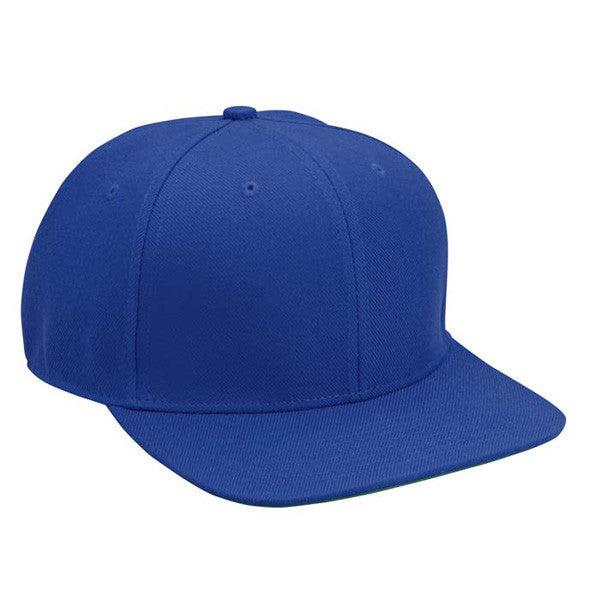 Royal Blue Wool Blend Hat