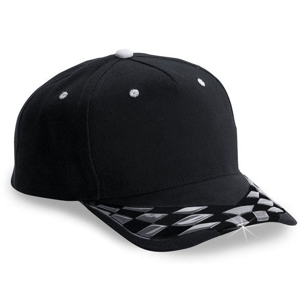 Black / 3d Checker Cap (Hat Of The Week)