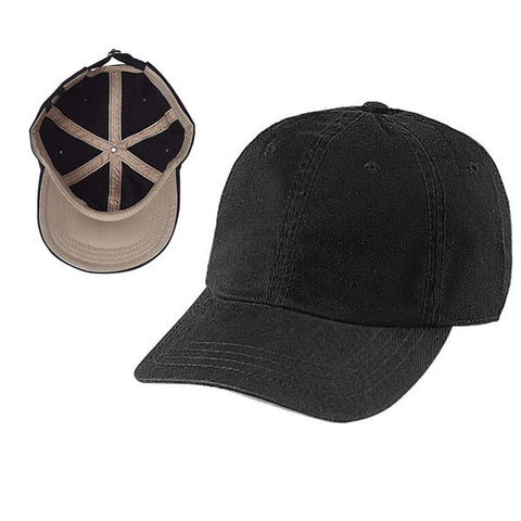 Gap Style Dad Hats - Black / Khaki