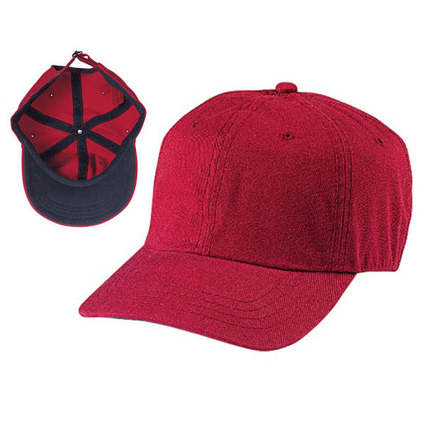 Gap Style Dad Hats - Dark Red / Navy