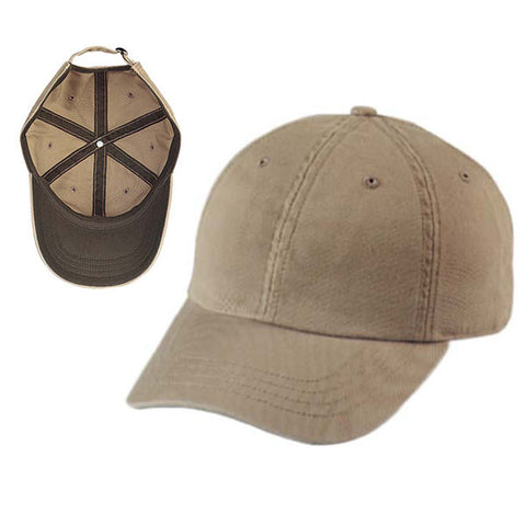 Gap Style Dad Hats - Khaki/ Brown