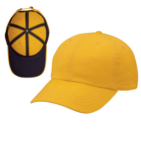 Gap Style Dad Hats - Yellow/ Navy