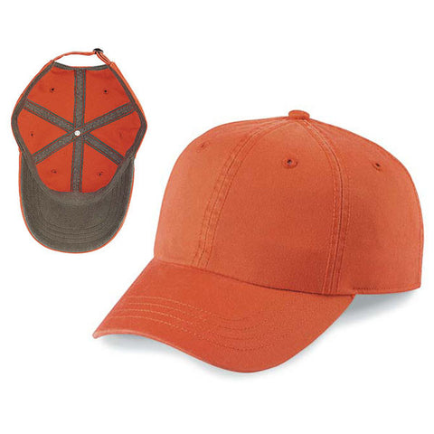 Gap Style Dad Hats - Orange/ Brown