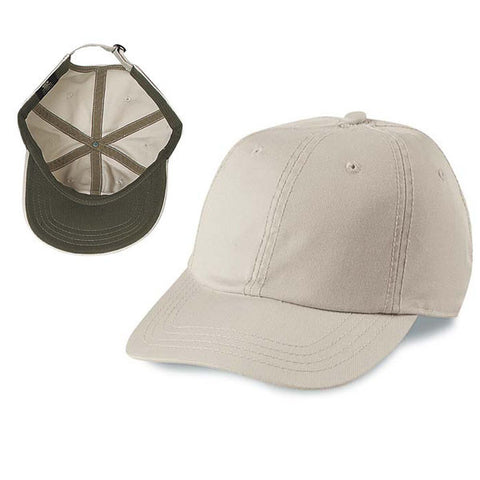 Gap Style Dad Hats - Cream / Brown