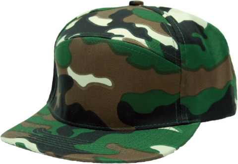6-Panel Structured Hybrid Hat (Premium)