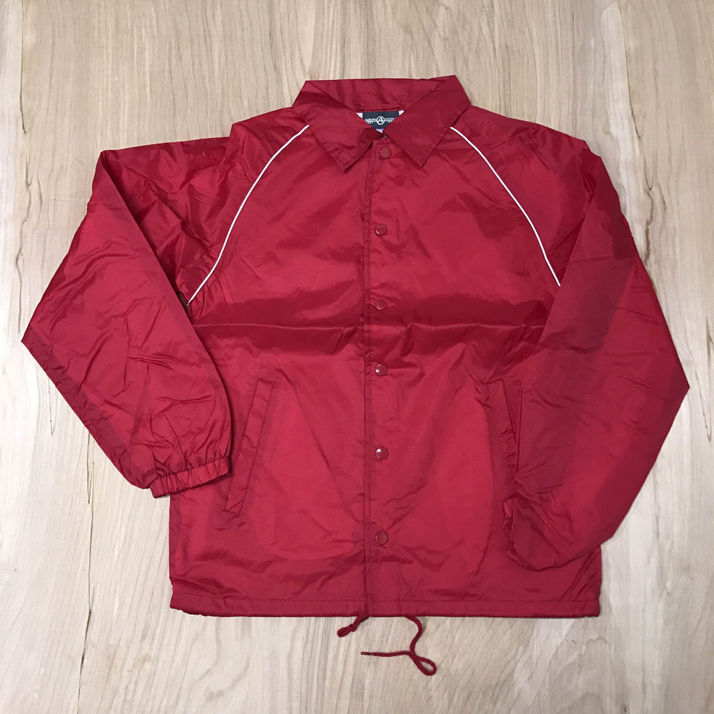 RED LINED COACH JACKET