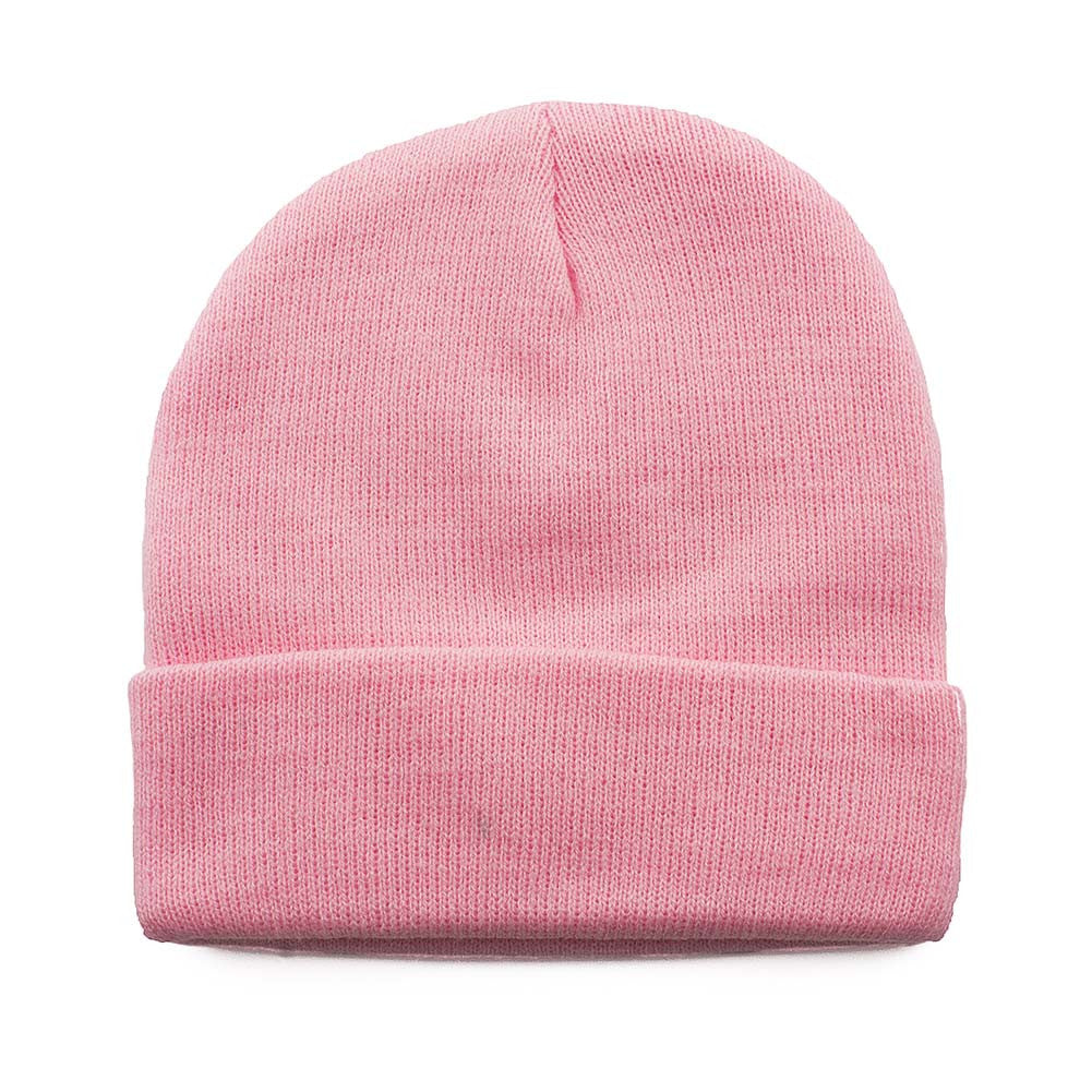Light Pink Cuffed Beanie