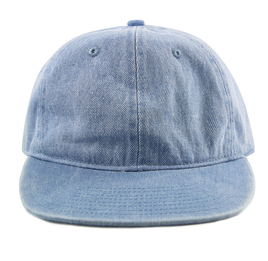 Light Denim 6-Panel Unstructured Flatbill