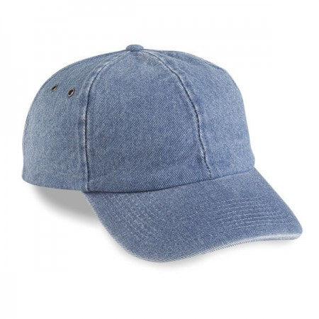 Denim Unstructured 6-Panel