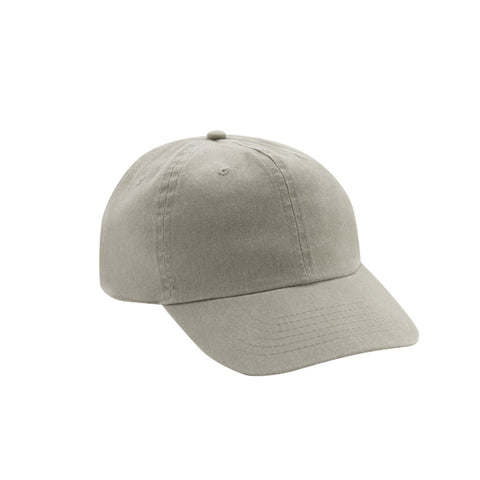6 Panel Stone Washed Dad Hat - Stone