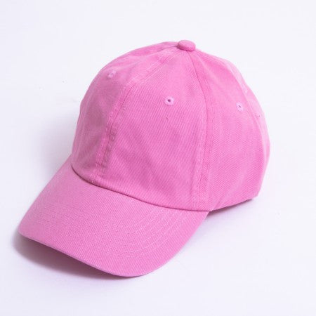 Pink  Unstructured 6-Panel