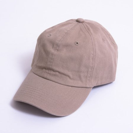 Khaki Unstructured 6-Panel
