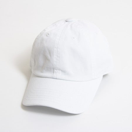 White Unstructured 6-Panel