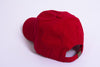 Red Unstructured 6-Panel