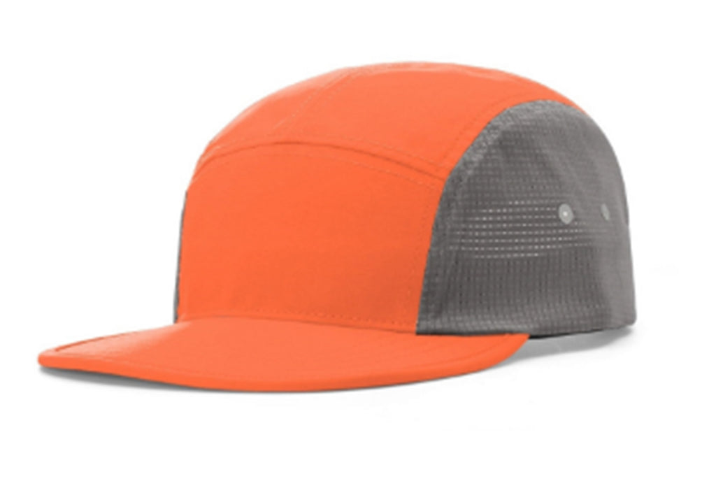 Relaxed Stay Dry 5-Panel - Orange/ Grey