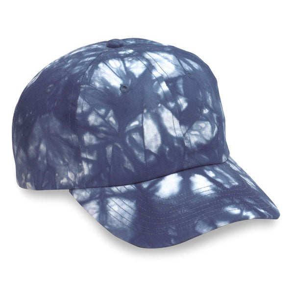 Blue Tie Dye Unstructured Hat (SALE)