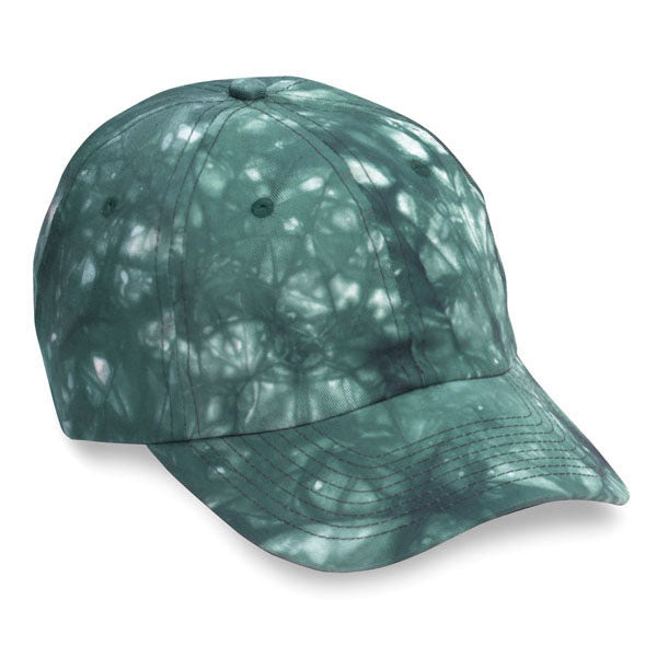 Green Tie Dye Unstructured Hat (SALE)