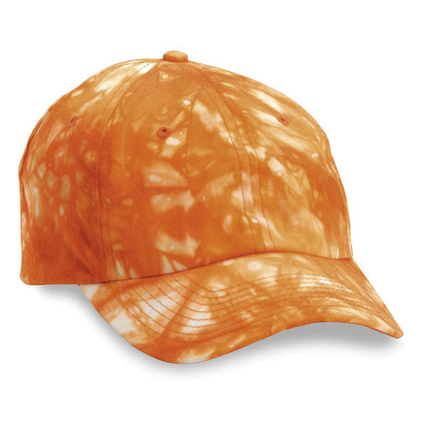 Orange Tie Dye Unstructured Hat (SALE)