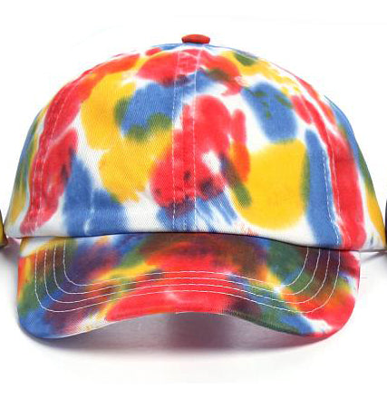 Art Dye Dad Hats (Red Yellow Blue)
