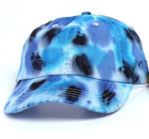 Art Dye Dad Hats (Blue Purple Black)