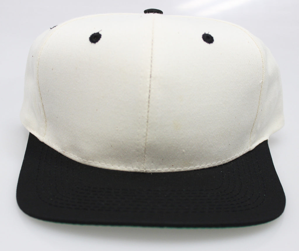 VINTAGE SNAPBACK CREAM/ BLACK (SALE)