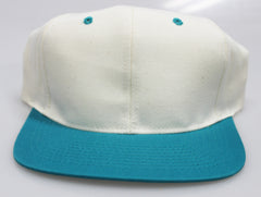 Vintage Snapbacks Cream/ Teal