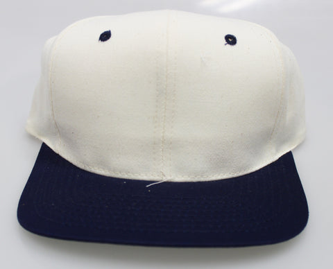 VINTAGE SNAPBACK CREAM/ NAVY (SALE)