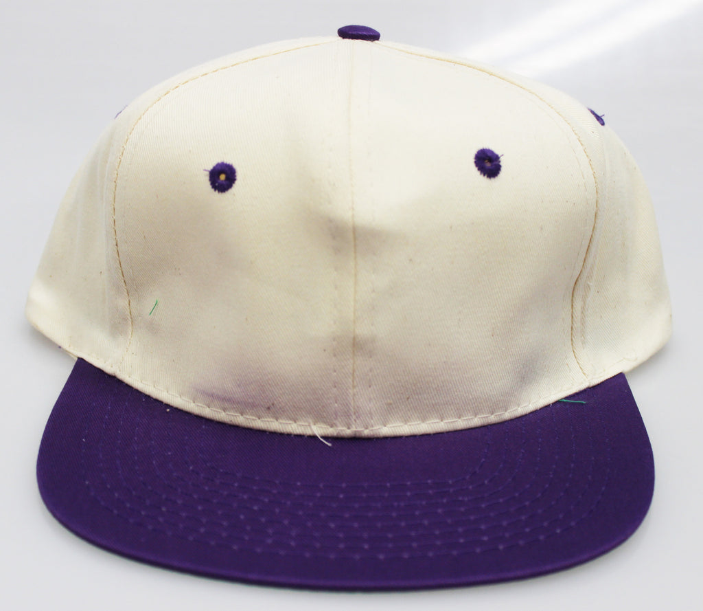 VINTAGE SNAPBACK CREAM/ PURPLE (SALE)