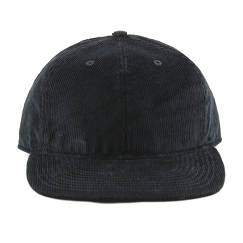 Black Corduroy 6-Panel - NH