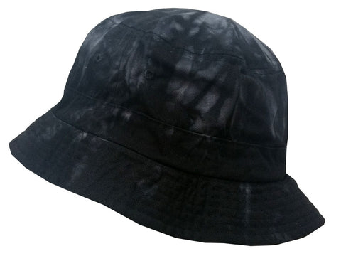 SPIDER BLACKTIE DYE BUCKET HAT