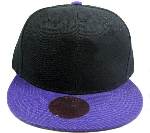 Black/ Purple Snapback