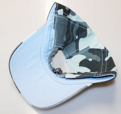 BLUE CAMO UNSTRUCTURED GAP STYLE CAP (SALE)