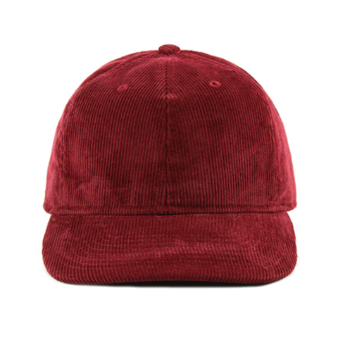 Burgundy Corduroy 6-Panel - NH