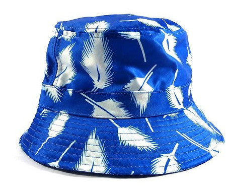 Royal Leaves Bucket Hat