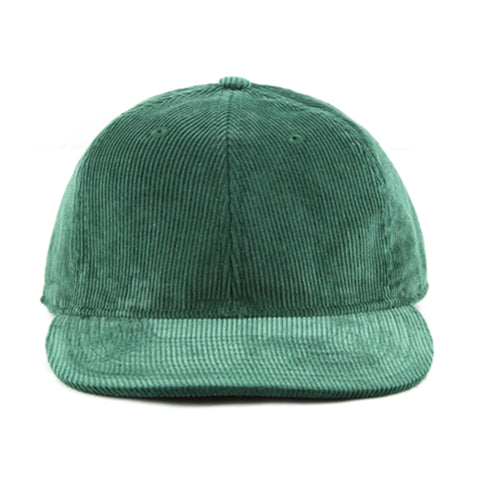 Green Corduroy 6-Panel - NH