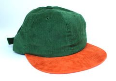Premium Green Corduroy / Suede Unstructured 6-Panel