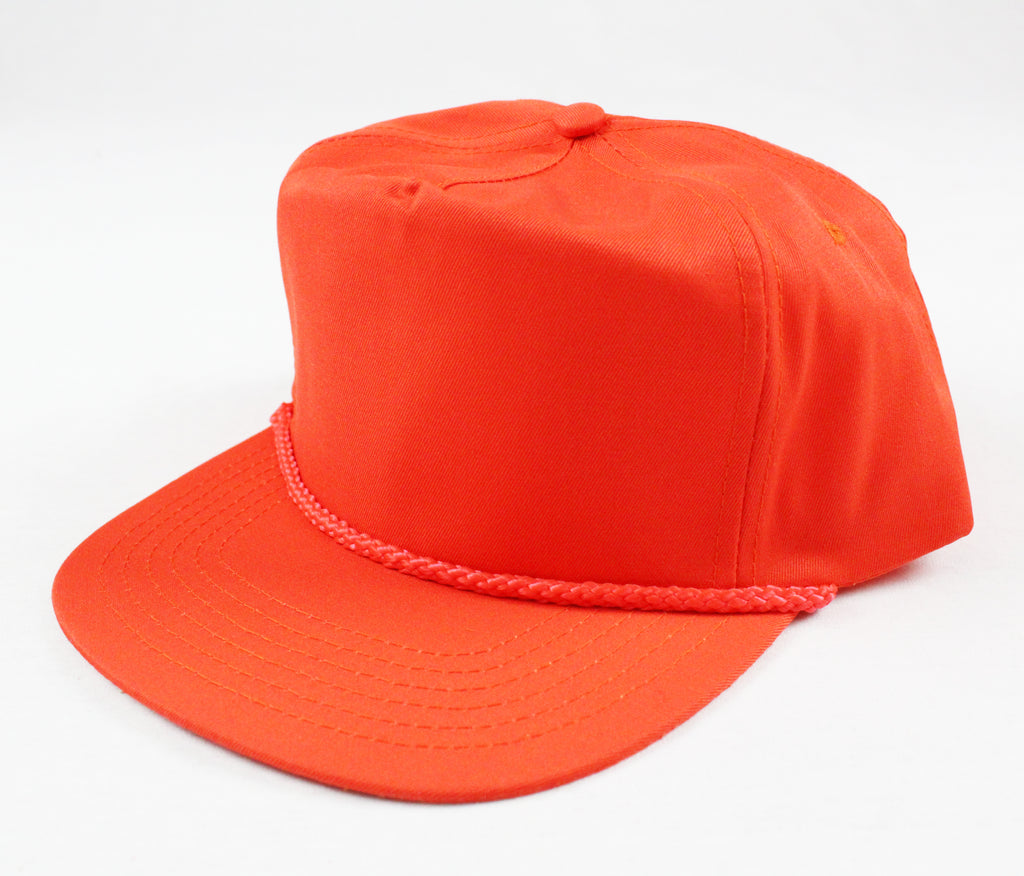 Braid Rope Snapback - Orange