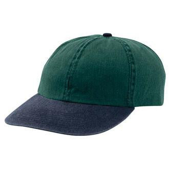 VINTAGE GREEN/ NAVY CAP (SALE)