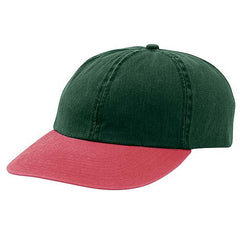 Dark Green/ Red Vintage Hats