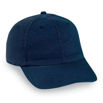 Washed Unstructured Dad Hat - Navy