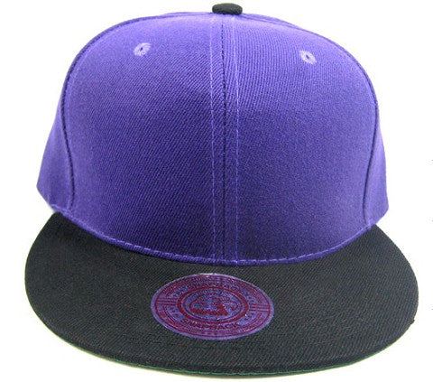 Purple/ Black Snapback