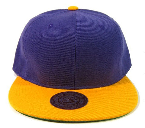 Purple/ Yellow Snapback
