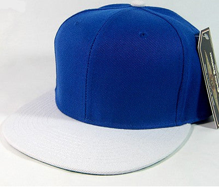 Royal Blue/ White Snapback