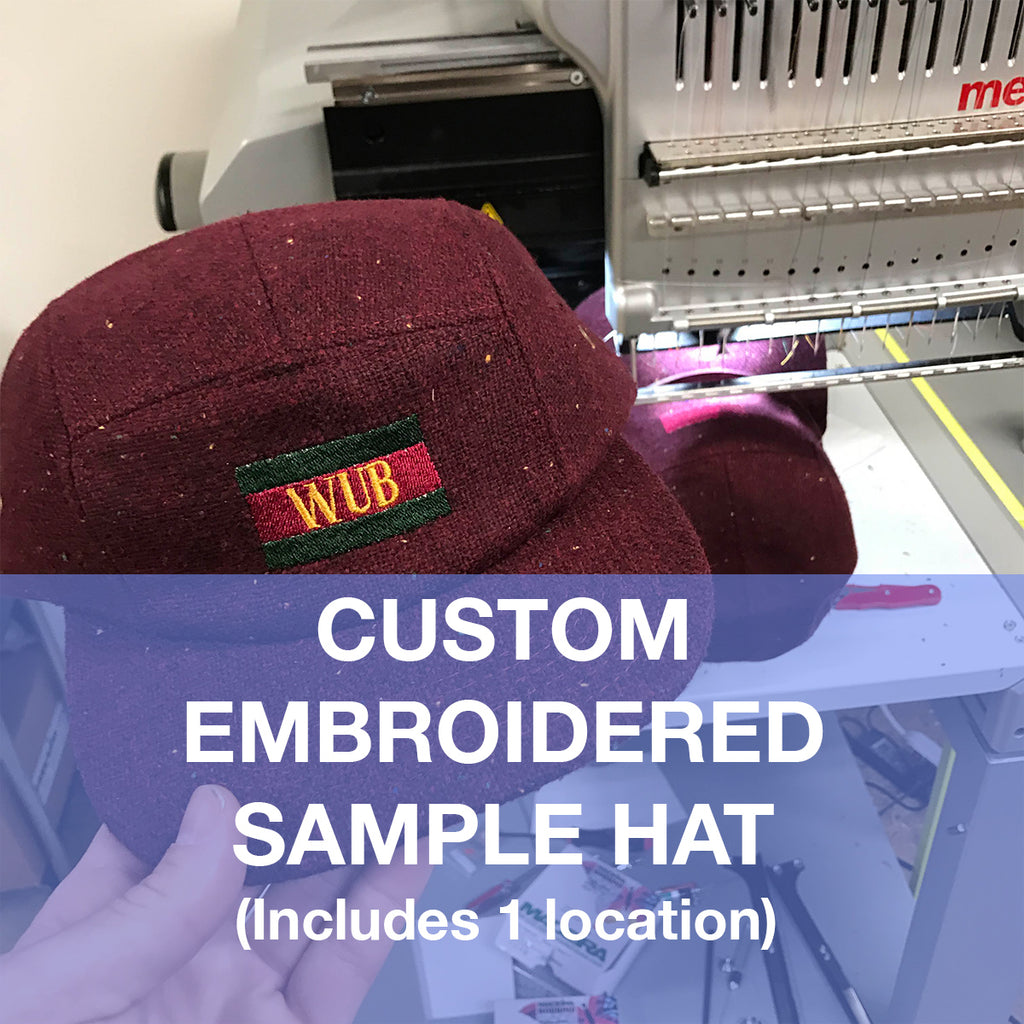 Custom Embroidered Sample Hat