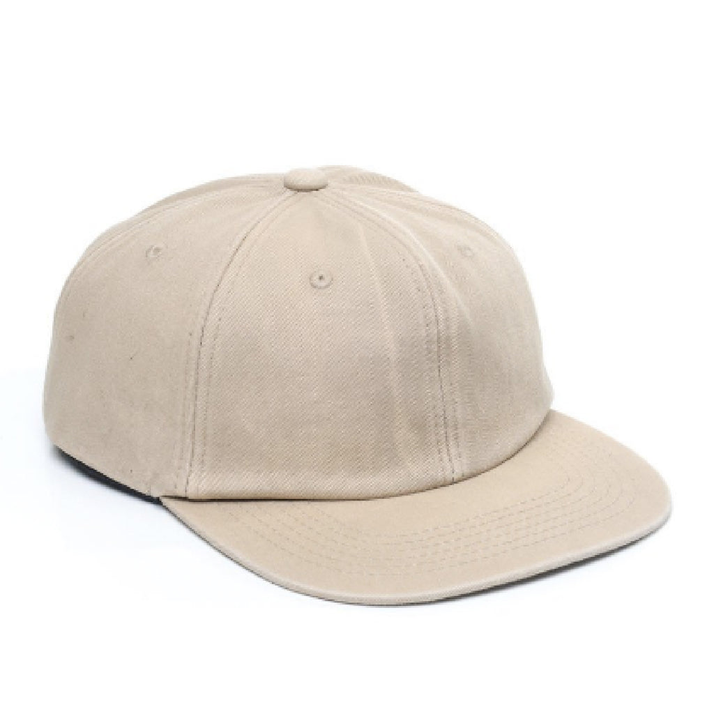 Faded Unstructured 6 Panel - Sand