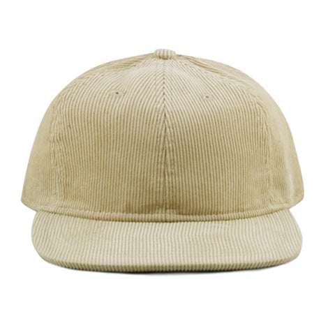 Sand Corduroy 6-Panel - NH
