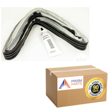 For Whirlpool Dryer Drum Rear Felt Seal Kit With Adhesive # PP9414903