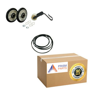 Details about  For Estate Dryer Repair Kit With Belt Idle Pulley Rollers # PR2491313PAES100