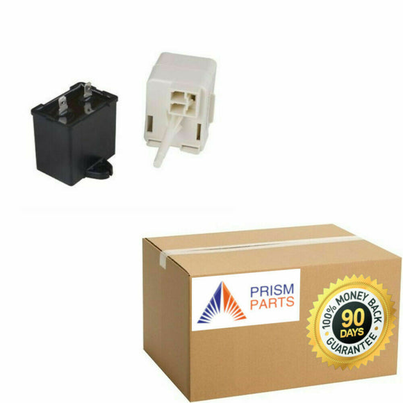For Whirlpool Refrigerator Start Relay Run Capacitor Device # PP4877875