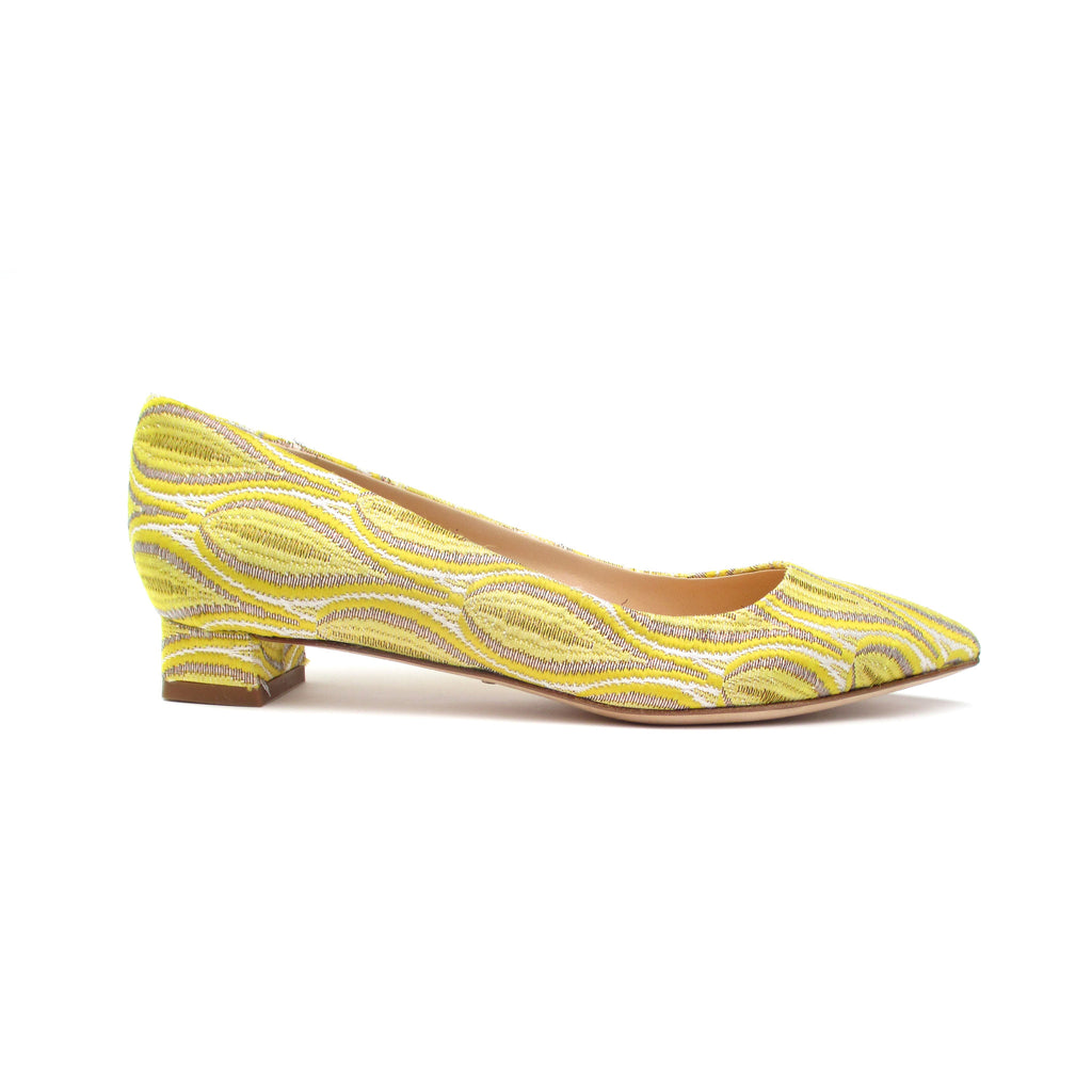 Gall - Yellow jacquard
